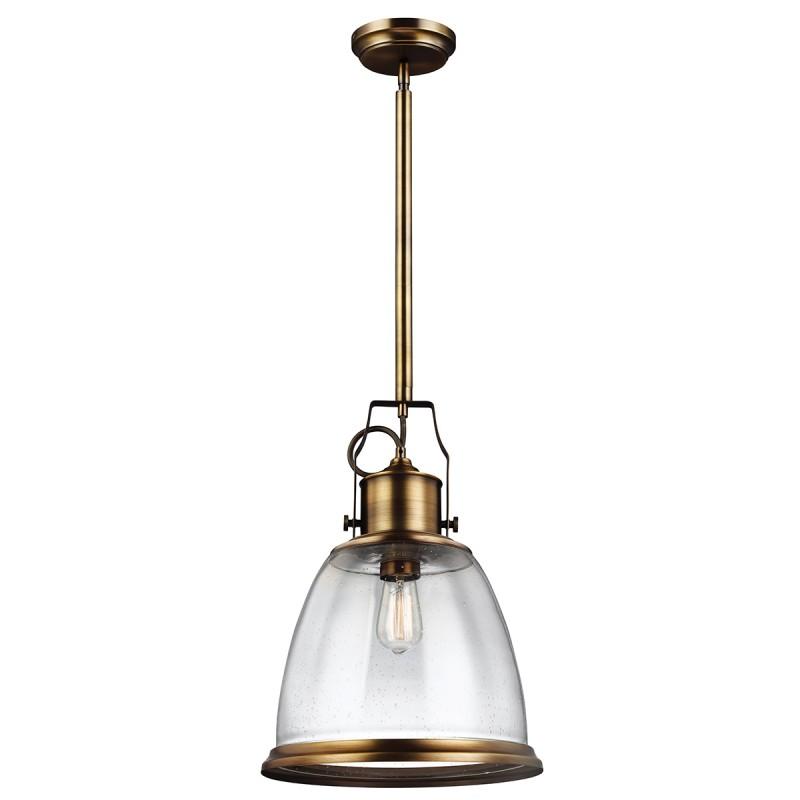 FE/HOBSON/P/M pojedyncza lampa sufitowa - dwa kolory - Feiss